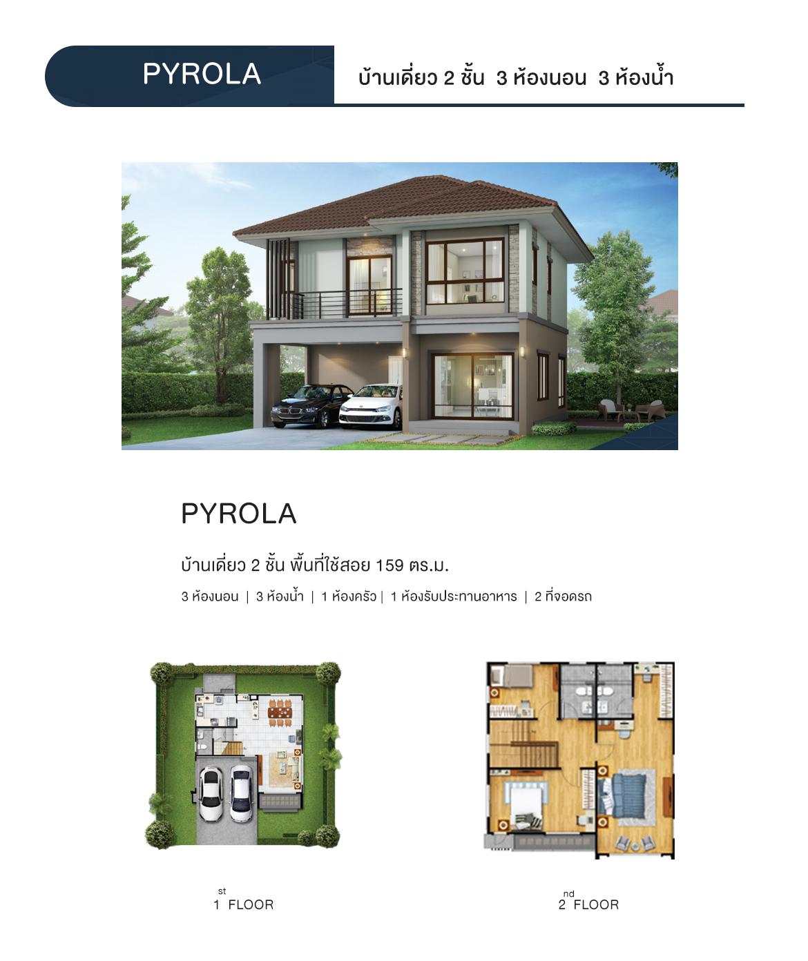 แบบบ้าน PYROLA
