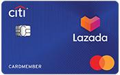 บัตรเครดิต ซิตี้ ลาซาด้า